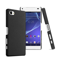 Funda Dura Plastico Rigida Mate para Sony Xperia Z5 Compact Negro