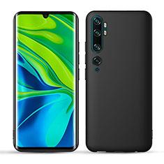 Funda Dura Plastico Rigida Mate para Xiaomi Mi Note 10 Negro