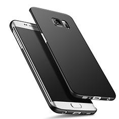 Funda Dura Plastico Rigida Mate Q02 para Samsung Galaxy S6 Edge+ Plus SM-G928F Negro