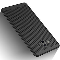 Funda Dura Plastico Rigida Perforada para Huawei Mate 10 Negro