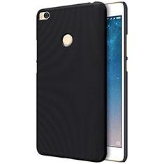 Funda Dura Plastico Rigida Perforada para Xiaomi Mi Max 2 Negro