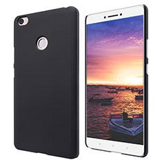 Funda Dura Plastico Rigida Perforada para Xiaomi Mi Max Negro