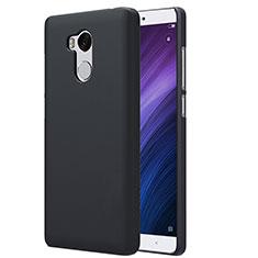 Funda Dura Plastico Rigida Perforada para Xiaomi Redmi 4 Prime High Edition Negro