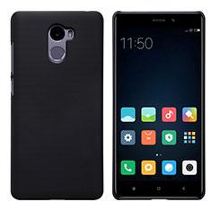 Funda Dura Plastico Rigida Perforada para Xiaomi Redmi 4 Standard Edition Negro