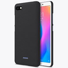 Funda Dura Plastico Rigida Perforada para Xiaomi Redmi 6A Negro
