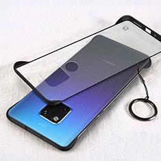 Funda Dura Ultrafina Carcasa Transparente Mate H05 para Huawei Mate 20 Negro