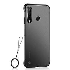 Funda Dura Ultrafina Carcasa Transparente Mate H05 para Huawei P30 Lite Negro