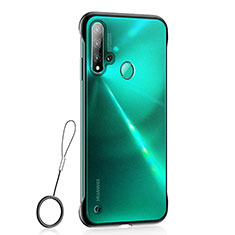 Funda Dura Ultrafina Carcasa Transparente Mate U01 para Huawei Nova 5i Negro