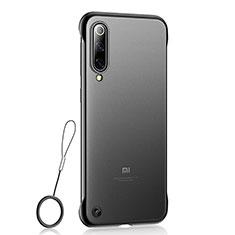 Funda Dura Ultrafina Carcasa Transparente Mate U01 para Xiaomi Mi 9 Pro Negro