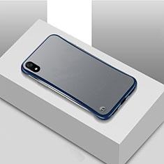 Funda Dura Ultrafina Carcasa Transparente Mate U01 para Xiaomi Redmi 7A Azul