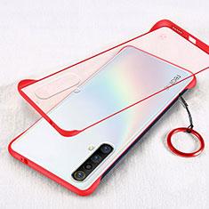 Funda Dura Ultrafina Transparente Carcasa para Realme X3 SuperZoom Rojo