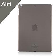 Funda Dura Ultrafina Transparente Mate para Apple iPad Air Gris