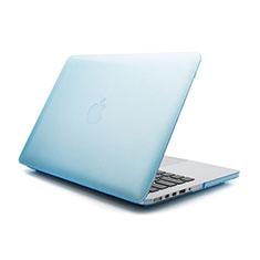 Funda Dura Ultrafina Transparente Mate para Apple MacBook Air 11 pulgadas Azul