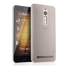 Funda Dura Ultrafina Transparente Mate para Asus Zenfone 2 ZE551ML ZE550ML Blanco