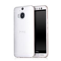 Funda Dura Ultrafina Transparente Mate para HTC One M9 Plus Blanco
