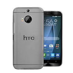 Funda Dura Ultrafina Transparente Mate para HTC One M9 Plus Gris