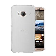 Funda Dura Ultrafina Transparente Mate para HTC One Me Blanco