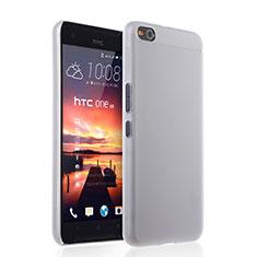 Funda Dura Ultrafina Transparente Mate para HTC One X9 Blanco