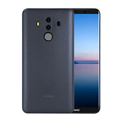 Funda Dura Ultrafina Transparente Mate para Huawei Mate 10 Pro Azul