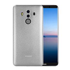 Funda Dura Ultrafina Transparente Mate para Huawei Mate 10 Pro Blanco