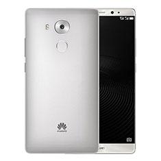 Funda Dura Ultrafina Transparente Mate para Huawei Mate 8 Gris