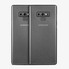 Funda Dura Ultrafina Transparente Mate T01 para Samsung Galaxy Note 9 Gris