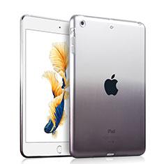 Funda Gel Ultrafina Transparente Gradiente para Apple iPad Air Gris