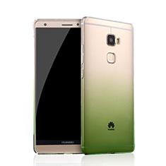 Funda Gel Ultrafina Transparente Gradiente para Huawei Mate S Verde