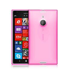 Funda Gel Ultrafina Transparente para Nokia Lumia 1520 Rosa