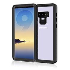 Funda Impermeable Bumper Silicona y Plastico Waterproof Carcasa 360 Grados para Samsung Galaxy Note 9 Negro