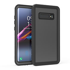 Funda Impermeable Bumper Silicona y Plastico Waterproof Carcasa 360 Grados para Samsung Galaxy S10 5G Negro