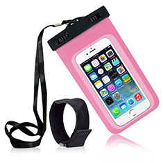 Funda Impermeable y Sumergible Universal W04 para Apple iPhone 11 Rosa