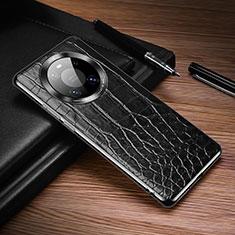 Funda Lujo Cuero Carcasa K05 para Huawei Mate 40 Pro Negro