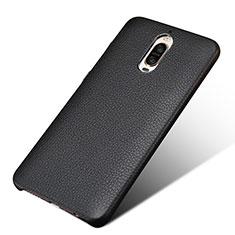 Funda Lujo Cuero Carcasa L01 para Huawei Mate 9 Pro Negro
