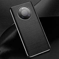Funda Lujo Cuero Carcasa L02 para Huawei Mate 40 Pro Negro