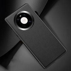 Funda Lujo Cuero Carcasa L04 para Huawei Mate 40 Pro Negro