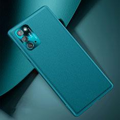 Funda Lujo Cuero Carcasa N01 para Samsung Galaxy Note 20 5G Cian
