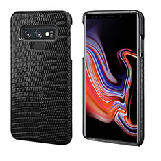 Funda Lujo Cuero Carcasa P02 para Samsung Galaxy Note 9 Negro