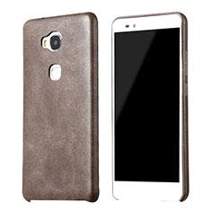 Funda Lujo Cuero Carcasa para Huawei Honor 5X Marron