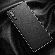 Funda Lujo Cuero Carcasa para Huawei Mate 40 Lite 5G Negro