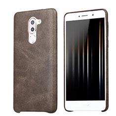 Funda Lujo Cuero Carcasa para Huawei Mate 9 Lite Marron