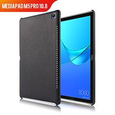 Funda Lujo Cuero Carcasa para Huawei MediaPad M5 Pro 10.8 Negro