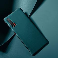 Funda Lujo Cuero Carcasa para Huawei Nova 6 5G Azul