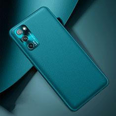 Funda Lujo Cuero Carcasa para Samsung Galaxy S20 FE 5G Cian