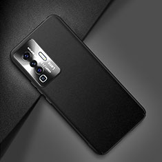 Funda Lujo Cuero Carcasa para Vivo X50 5G Negro
