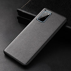 Funda Lujo Cuero Carcasa R03 para Samsung Galaxy S20 Plus 5G Negro