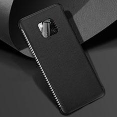 Funda Lujo Cuero Carcasa R04 para Huawei Mate 20 Pro Negro