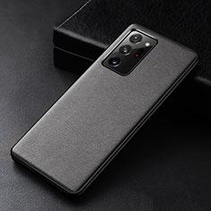 Funda Lujo Cuero Carcasa R04 para Samsung Galaxy Note 20 Ultra 5G Negro