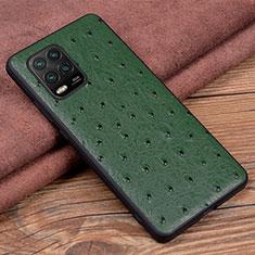 Funda Lujo Cuero Carcasa S01 para Xiaomi Mi 10 Lite Verde