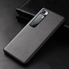Funda Lujo Cuero Carcasa S01 para Xiaomi Mi 10 Ultra Negro